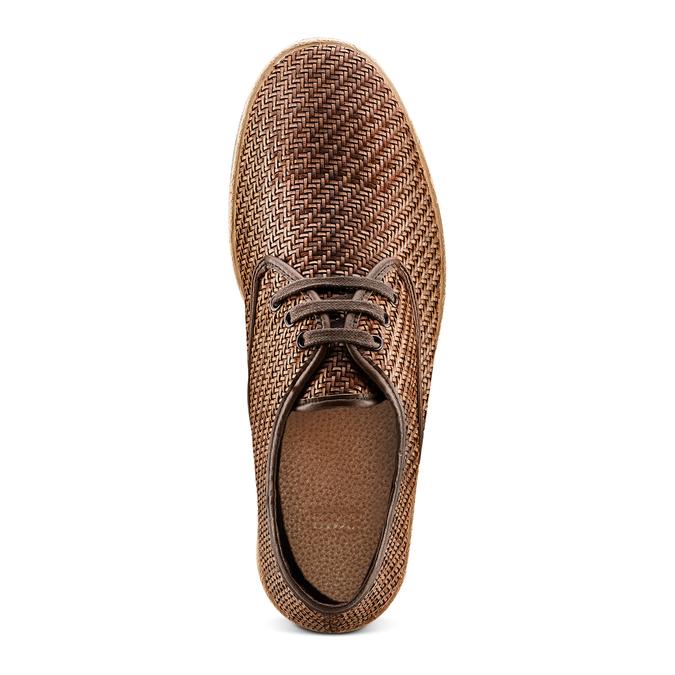 Men's shoes bata, Brun, 851-4211 - 17