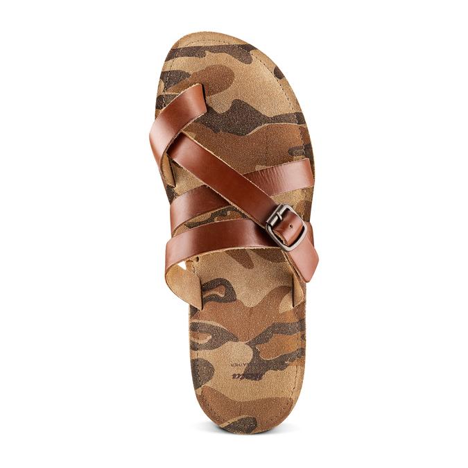 Men's shoes bata, Brun, 864-4185 - 17