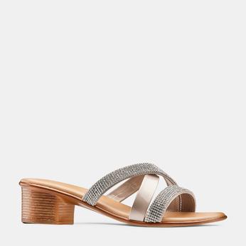Women's shoes bata, Brun, 671-3129 - 13