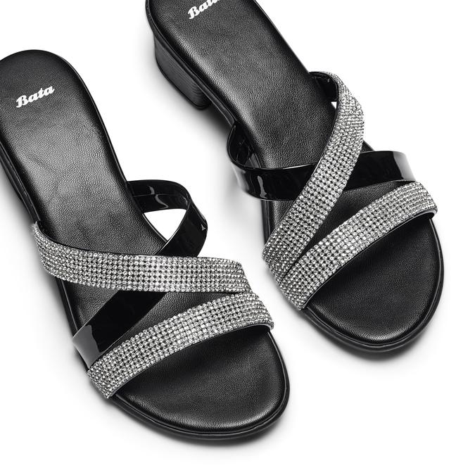 Women's shoes bata, Noir, 671-6129 - 26
