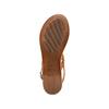 Women's shoes bata, Brun, 564-3210 - 19