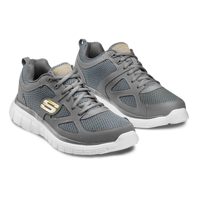 SKECHERS  Chaussures Homme skechers, Gris, 809-2805 - 16