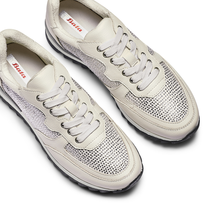 BATA Chaussures Femme bata, Blanc, 541-1312 - 26