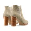 Women's shoes bata, Vert, 793-7248 - 26