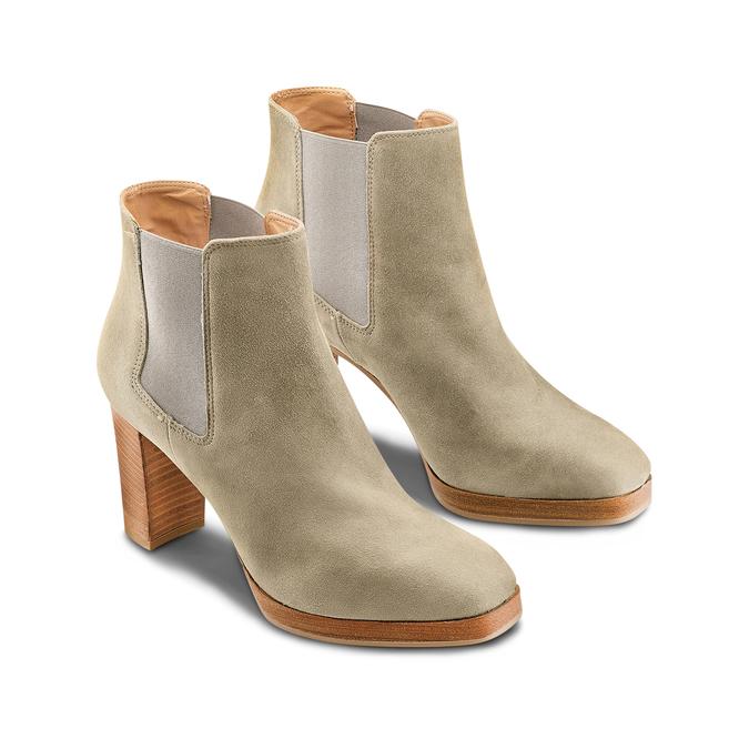 Women's shoes bata, Vert, 793-7248 - 16