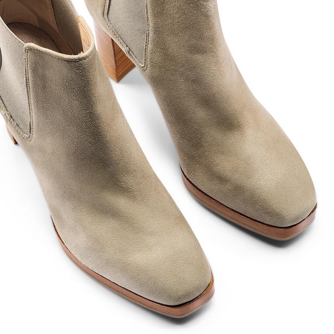 Women's shoes bata, Vert, 793-7248 - 17
