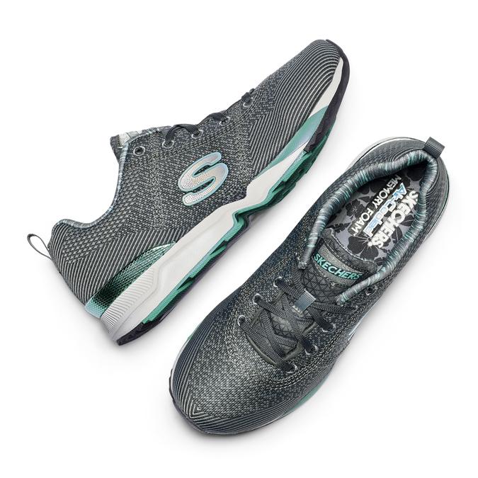 SKECHERS Chaussures Femme skechers, Gris, 509-2313 - 19