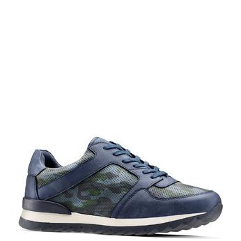 Men's shoes bata, Bleu, 841-9479 - 13