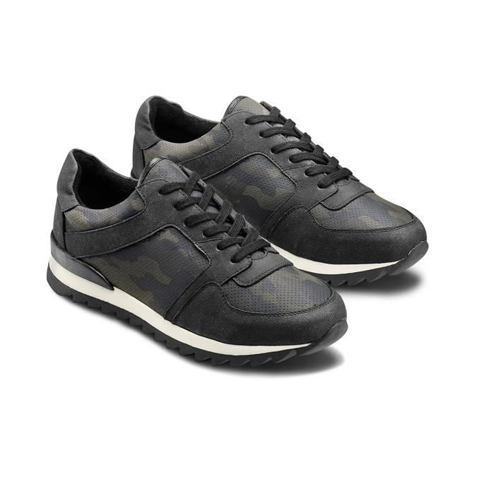 Men's shoes bata, Noir, 841-6479 - 16