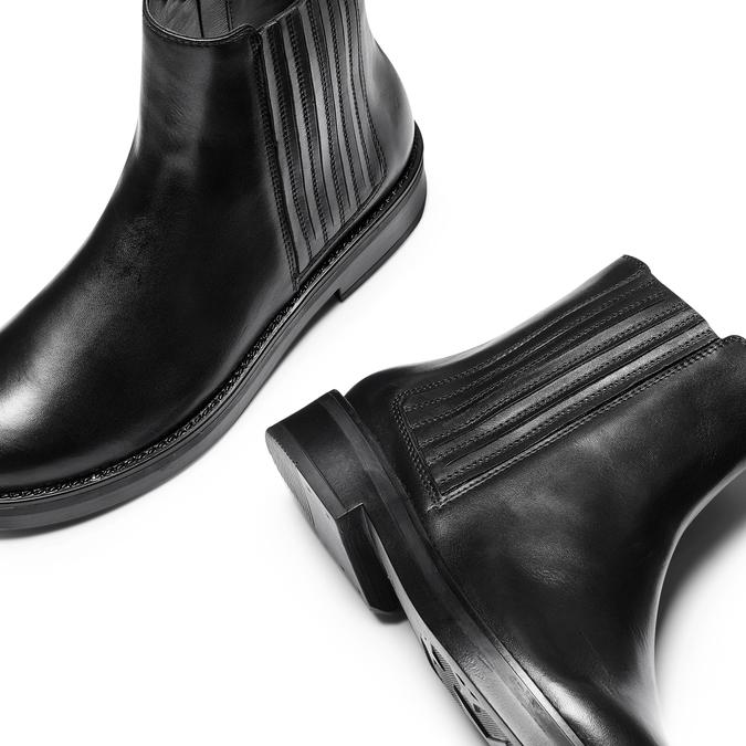 Women's shoes bata, Noir, 594-6120 - 26