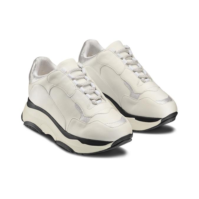 BATA Chaussures Femme bata, Blanc, 541-1160 - 16