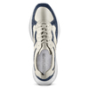 Men's shoes bata, Bleu, 824-9362 - 17