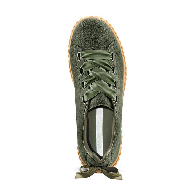 Women's shoes bata, Vert, 543-7415 - 17