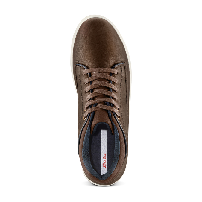 Men's Shoes bata, Brun, 841-4496 - 17