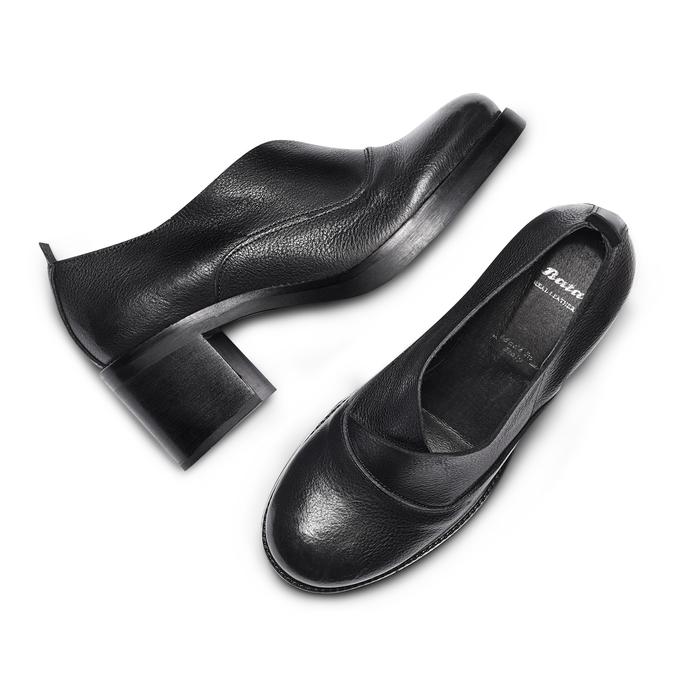 Women's shoes bata, Noir, 714-6103 - 26