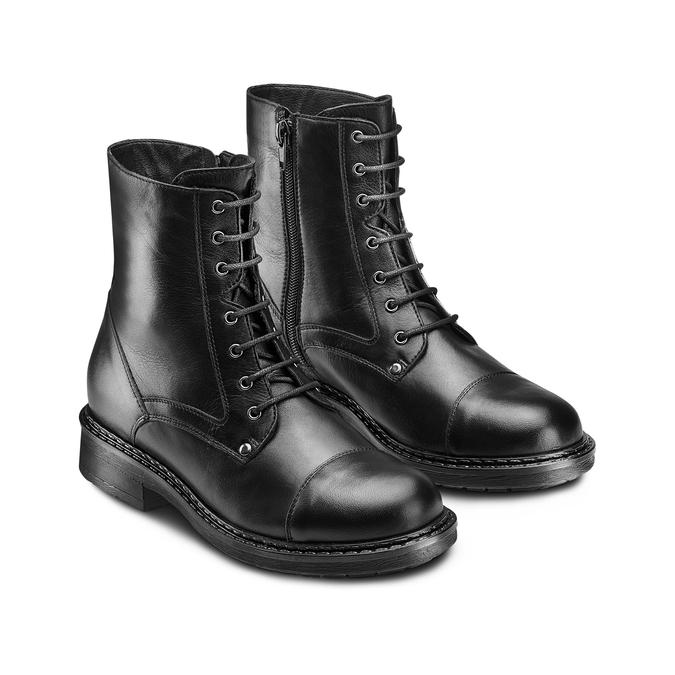 Women's shoes bata, Noir, 594-6963 - 16