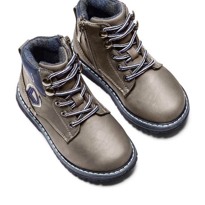 MINI B Chaussures Enfant mini-b, Gris, 291-2187 - 17
