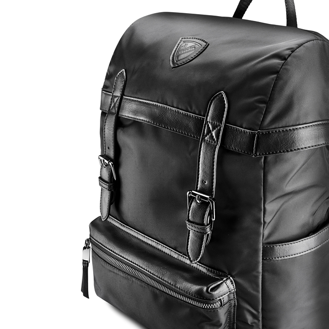 Backpack bata, Noir, 969-6266 - 15