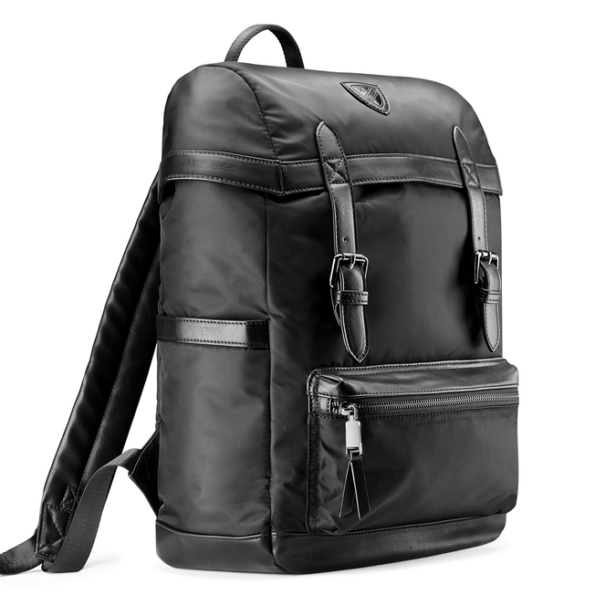 Backpack bata, Noir, 969-6266 - 13