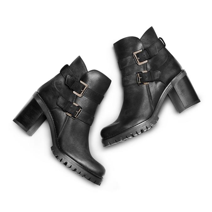 BATA Chaussures Femme bata, Noir, 796-6414 - 26