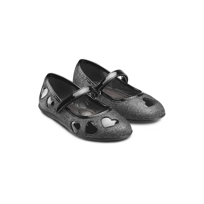 CHILDRENS SHOES mini-b, Noir, 229-6214 - 16