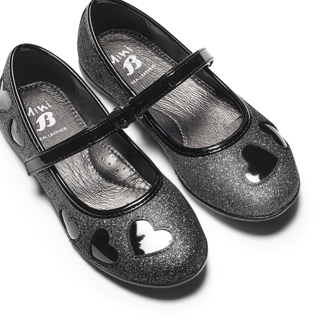 CHILDRENS SHOES mini-b, Noir, 229-6214 - 26