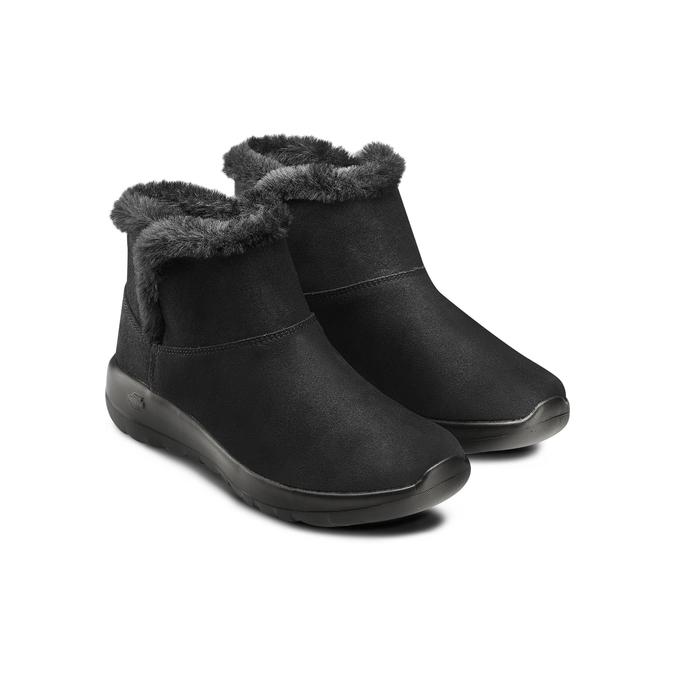 Chaussures Femme skechers, Noir, 503-6124 - 16