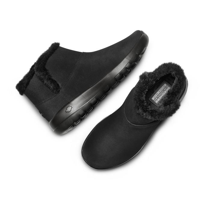 Chaussures Femme skechers, Noir, 503-6124 - 26