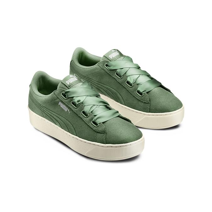 PUMA Chaussures Femme puma, Vert, 503-7237 - 16