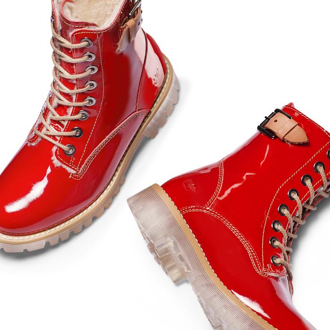 WEINBRENNER Chaussures Femme weinbrenner, Rouge, 598-5462 - 26