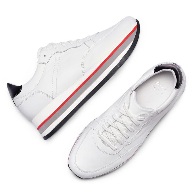 BATA Chaussures Femme bata, Blanc, 644-1102 - 26