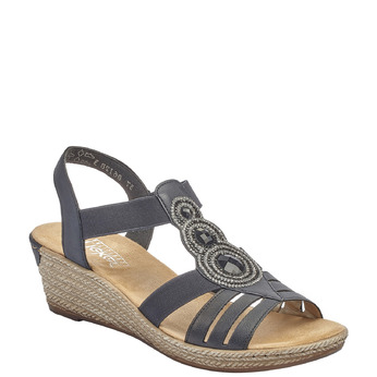 RIEKER Chaussures Femme rieker, Bleu, 661-9331 - 13