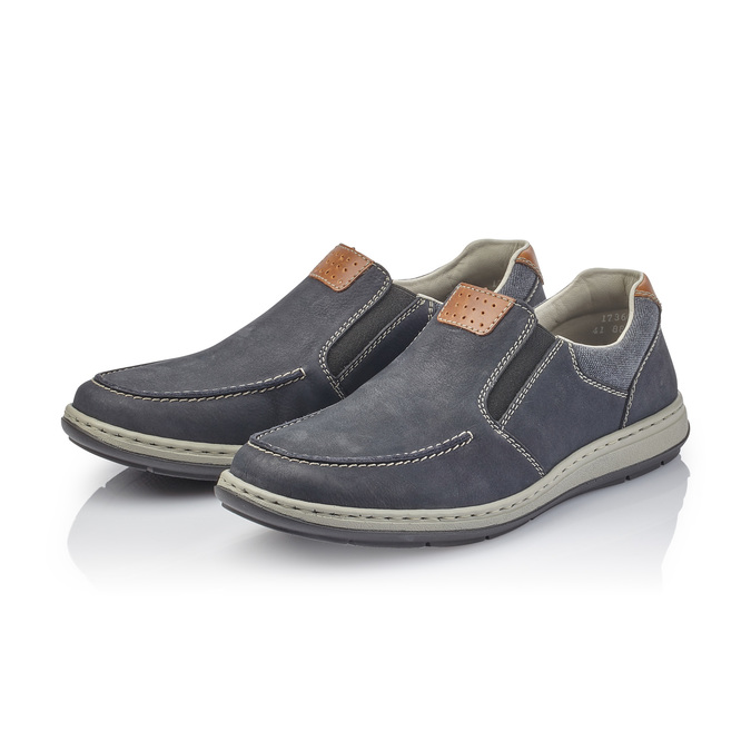 Rieker men's shoes rieker, Bleu, 831-9146 - 26
