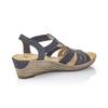 RIEKER Chaussures Femme rieker, Bleu, 661-9331 - 15