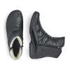 RIEKER Chaussures Femme rieker, Noir, 594-6331 - 16