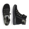 RIEKER Chaussures Femme rieker, Noir, 593-6322 - 16