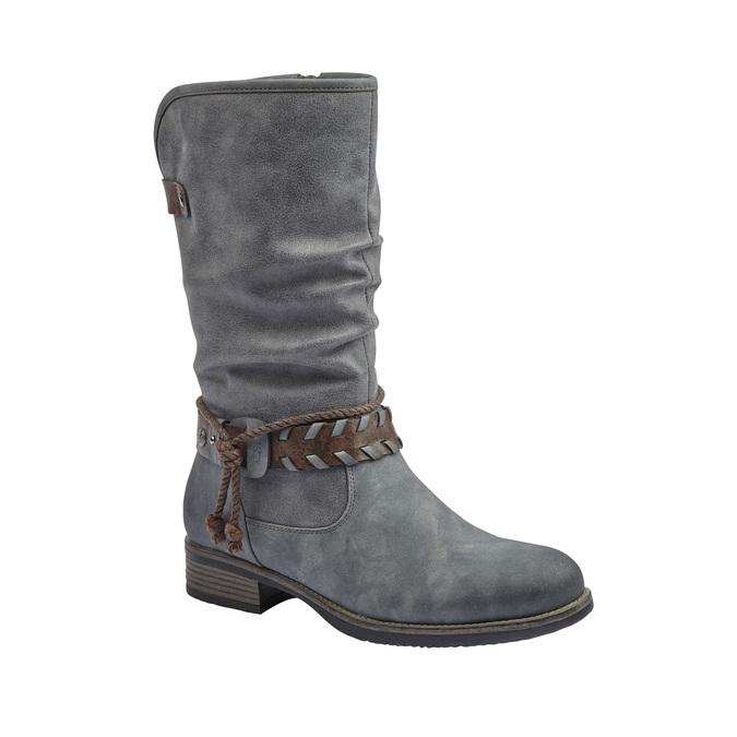 RIEKER Chaussures Femme rieker, Gris, 591-2383 - 13