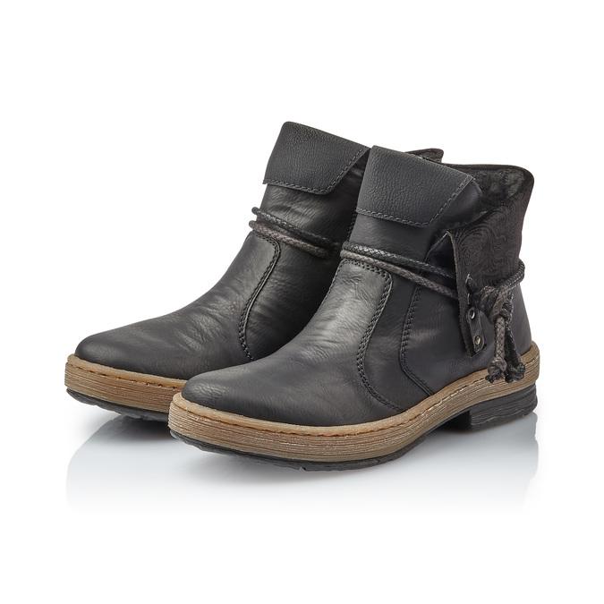 RIEKER Chaussures Femme rieker, Noir, 594-6242 - 26