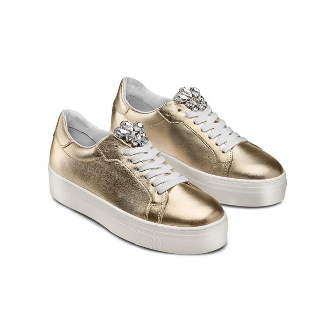 BATA Chaussures Femme bata, Or, 544-8442 - 16