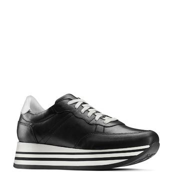 BATA Chaussures Femme bata, Noir, 644-6102 - 13