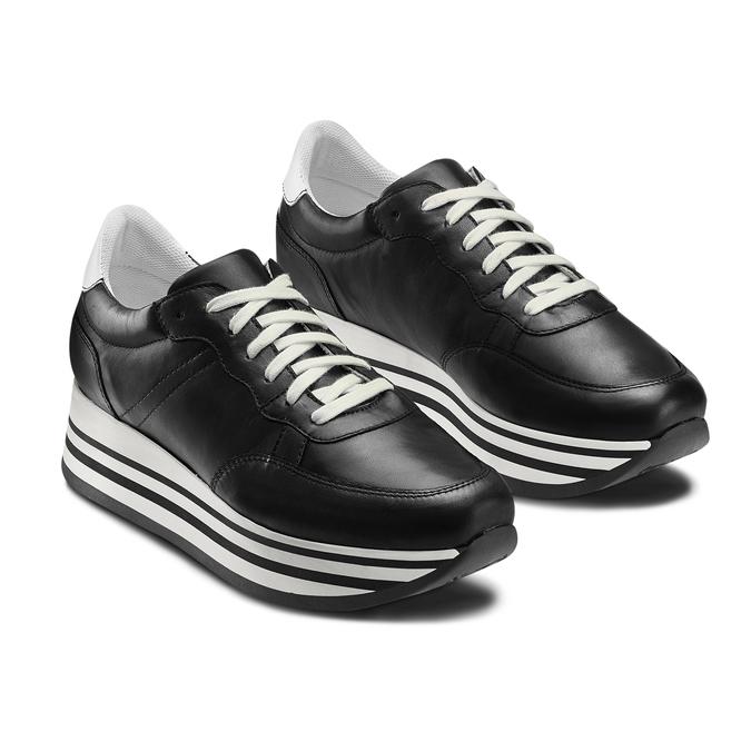 BATA Chaussures Femme bata, Noir, 644-6102 - 16