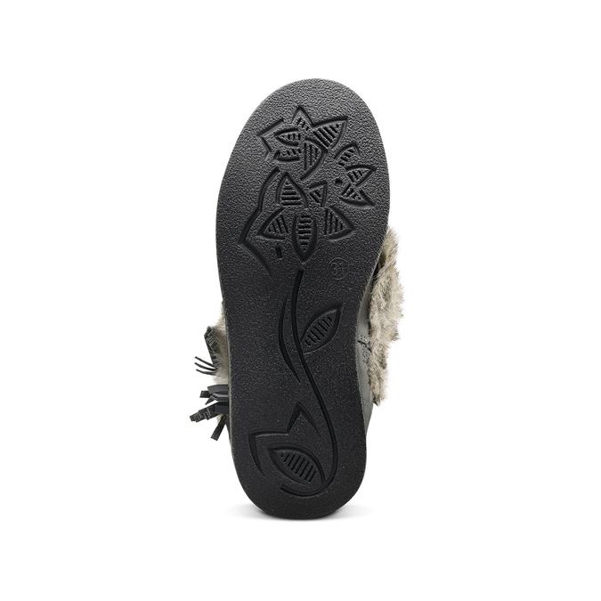 Childrens shoes mini-b, Gris, 391-2412 - 17