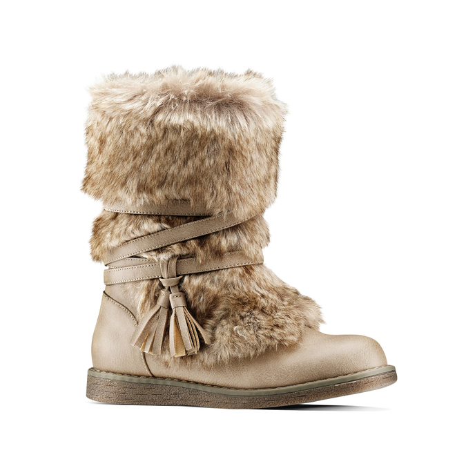 Childrens shoes mini-b, Brun, 391-3412 - 13