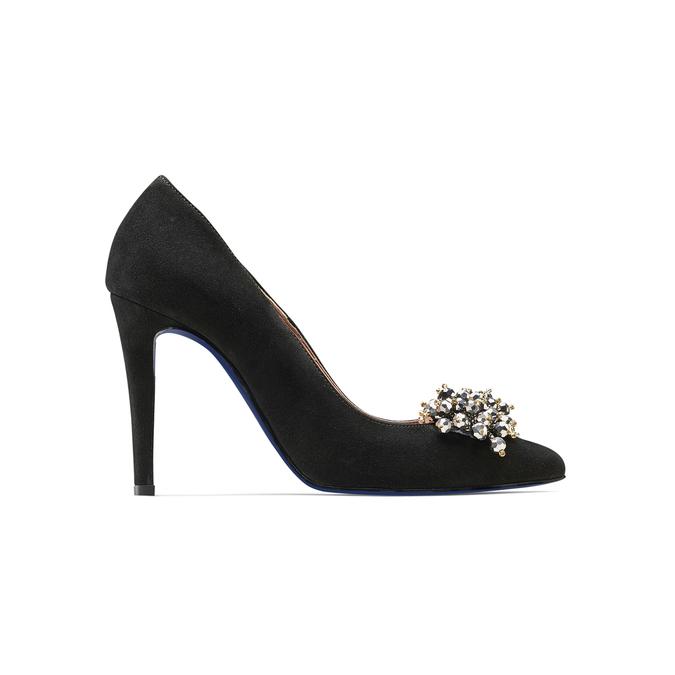 BATA M Chaussures Femme, Noir, 723-6261 - 26