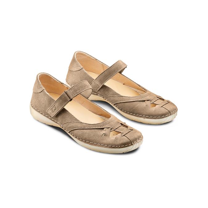 WEINBRENNER Chaussures Femme weinbrenner, Beige, 523-8380 - 16