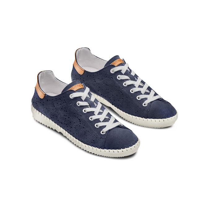 WEINBRENNER Chaussures Femme weinbrenner, Bleu, 523-9413 - 16