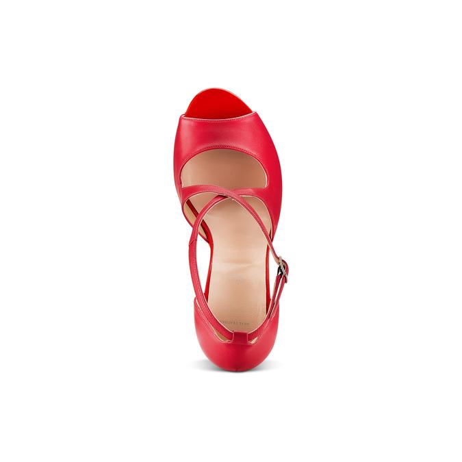 BATA Chaussures Femme bata, Rouge, 724-5368 - 17