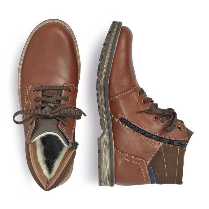 RIEKER Chaussures Homme rieker, Brun, 894-4332 - 16