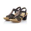 RIEKER Chaussures Femme rieker, Noir, 761-6475 - 26