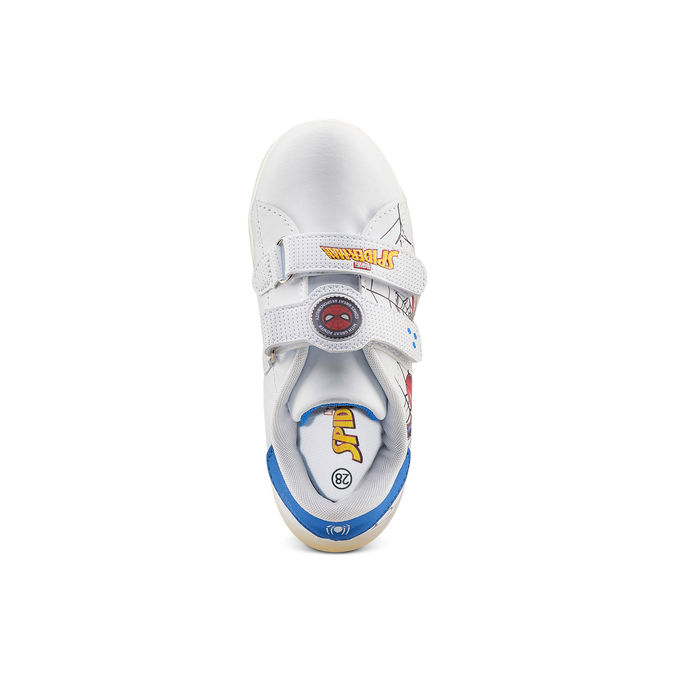 Childrens shoes spiderman, Blanc, 311-1158 - 17